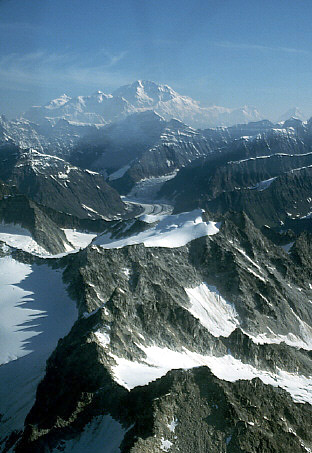 Picture of mountains in Alaska